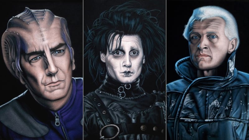 Illustration for article titled Your Favorite Science Fiction Characters Brought To Life...On Velvet!