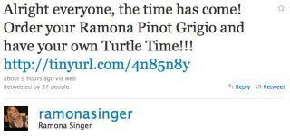 Illustration for article titled Ramona Singer Releases Own Pinot Grigio