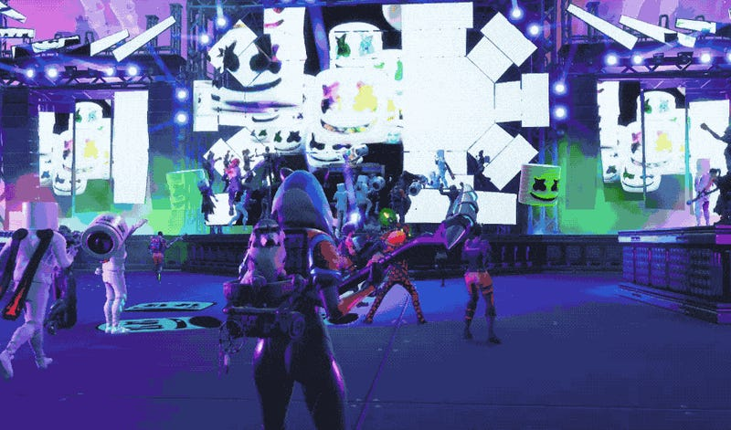 fortnite had an in game marshmello concert and it was actually pretty great - fortnite marshmello concert date