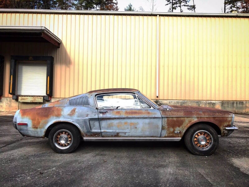 This Barn Find 1968 Ford Mustang Fastback Came With the