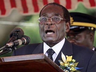 Illustration for article titled Report: Robert Mugabe Has Prostate Cancer