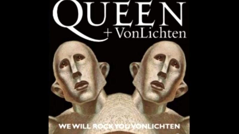 """Illustration for article titled Queen produces Jock Jams-style """"We Will Rock You"""" for CBS football, ruins everything"""