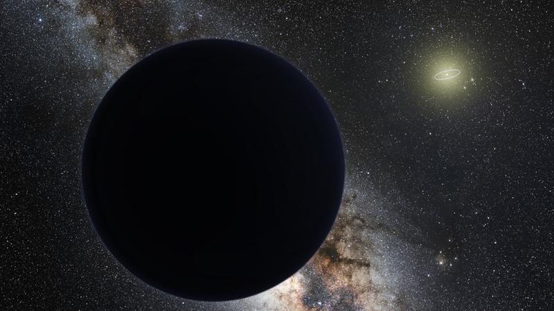 Artist's impression of Planet Nine.