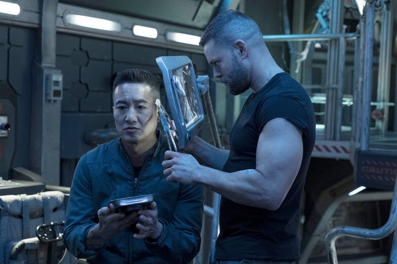 Terry Chen (left), Wes Chatham