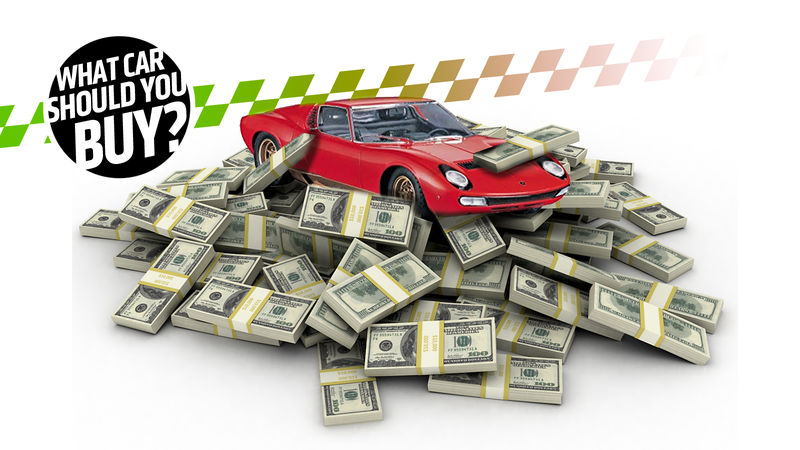 Illustration for article titled I Have a Small Fortune to Get Whatever I Want! What Car Should I Buy?