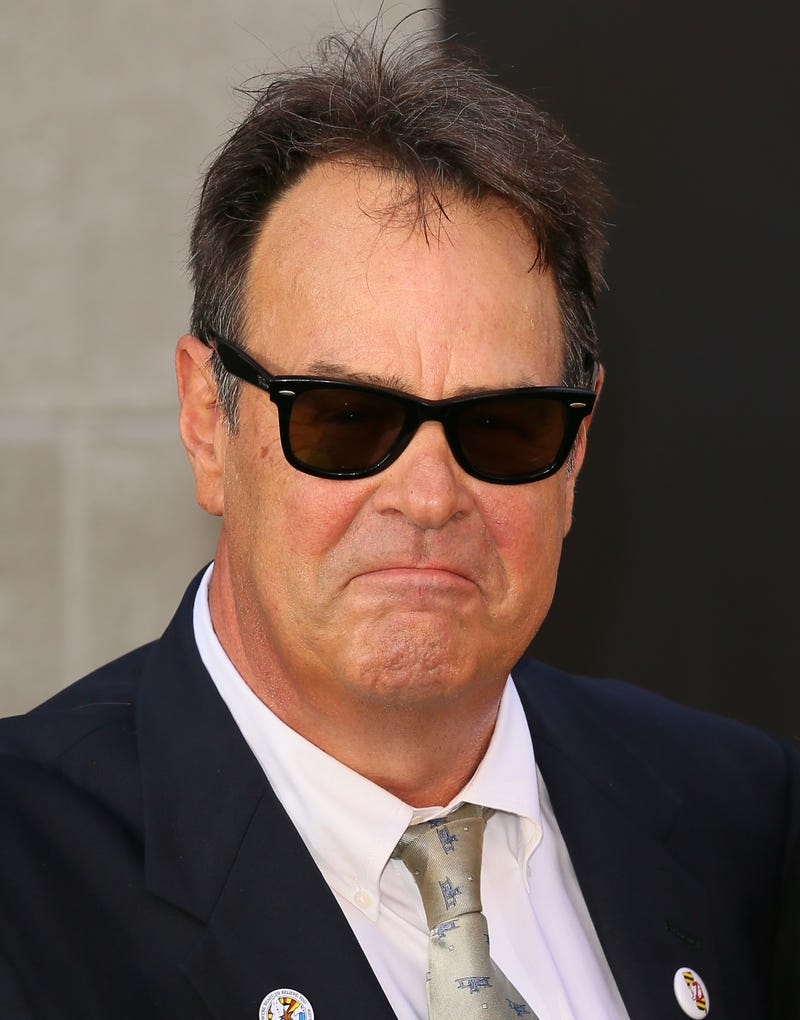 Dan Aykroyd attends the premiere of Ghostbusters on July 9, 2016, in Hollywood, Calif.JB Lacroix/WireImage