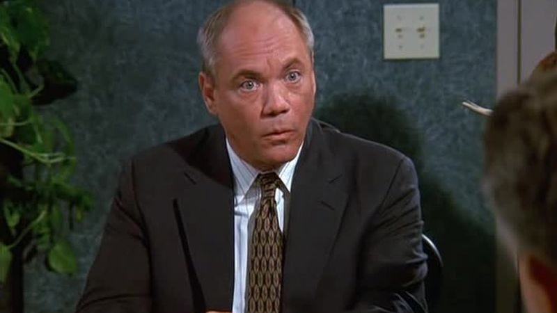 Illustration for article titled R.I.P. Daniel Von Bargen, Seinfeld's Mr. Kruger