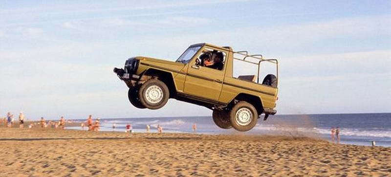 Illustration for article titled This Is What A Mercedes G-Wagen Should Really Be About