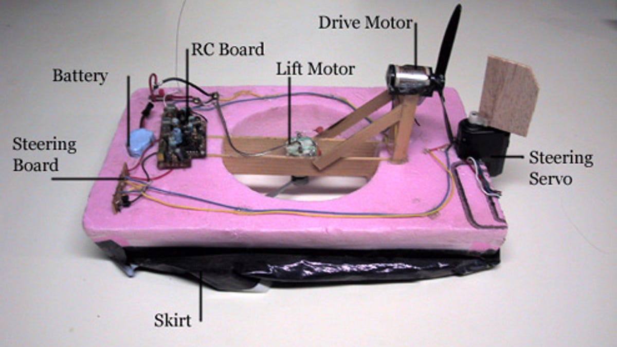 Make your own rc hovercraft out of old junk solutioingenieria Image collections