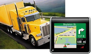 Illustration for article titled TeleType GPS Navigation Unit Caters To Truckers, Hazmat Drivers