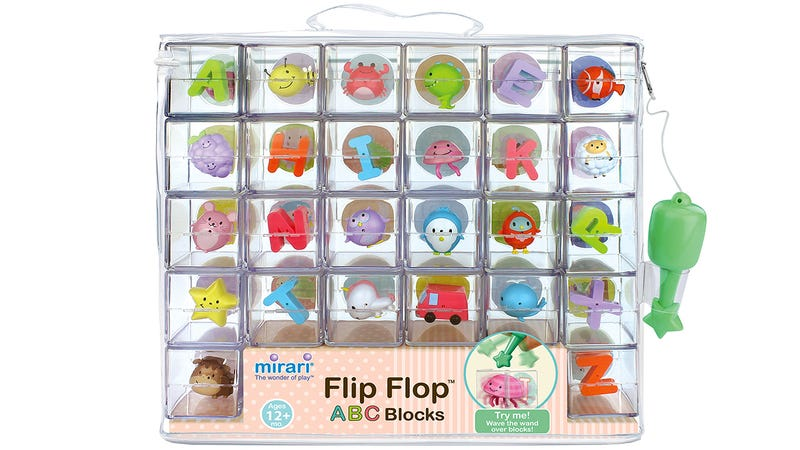 Illustration for article titled See-Through Alphabet Blocks With Adorable 3D Characters Trapped Inside