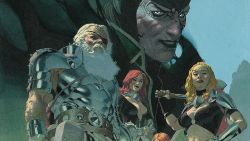 Illustration for article titled Jason Aaron and Esad Ribić end an era in this King Thor #1 exclusive