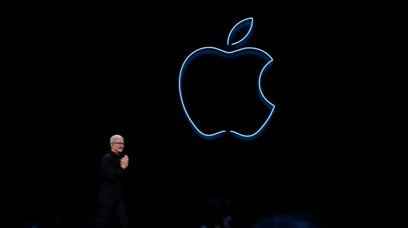 Apple CEO Tim Cook at the 2019 Apple Worldwide Developers Conference.
