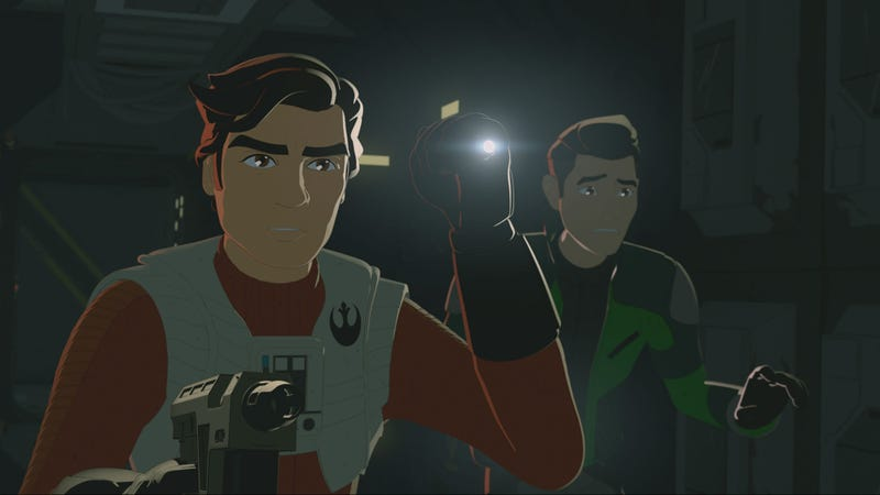 The Latest Star Wars Resistance Had Some Minor Cameos and Major Ridley Scott Vibes