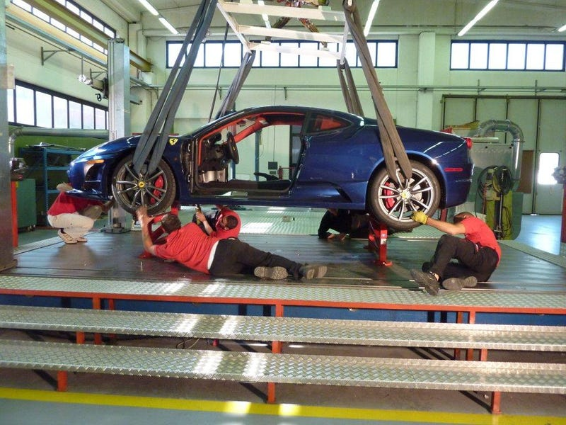 Illustration for article titled EXCLUSIVE: Ferrari P4/5 Competizione Build Report