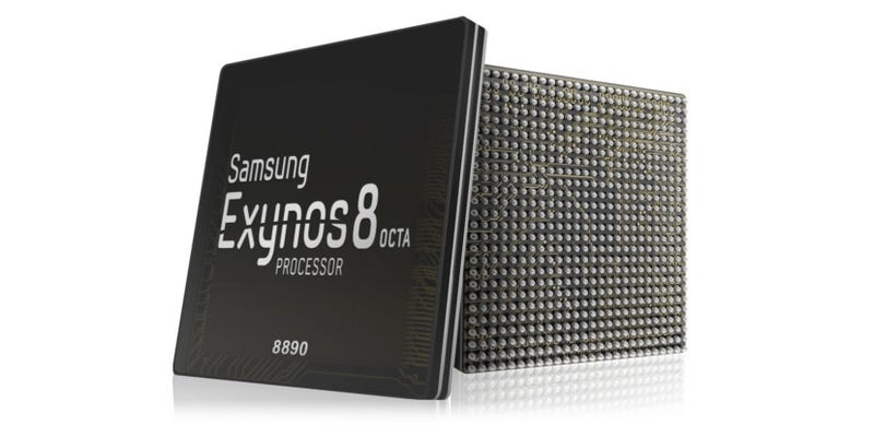 Illustration for article titled Samsung's New High-End Smartphone Chip Is Its First To Be Fully Integrated