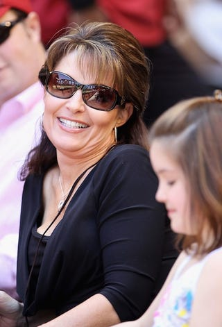 Illustration for article titled Sarah Palin Is Just Glad We Can't Blame Her For Egypt