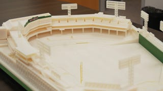 Illustration for article titled This Intricate Replica of Fenway Park Is an Awesome Example of 3D Printing