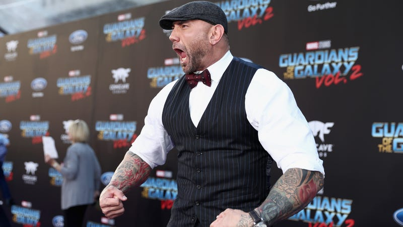 """Illustration for article titled Dave Bautista on whether or not he'd appear in a Fast And Furious movie: """"I'd rather do good films"""""""