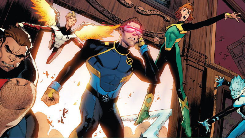 Image: Marvel Comics. Art by Jorge Molina, Matteo Buffagni, and Matt Milla