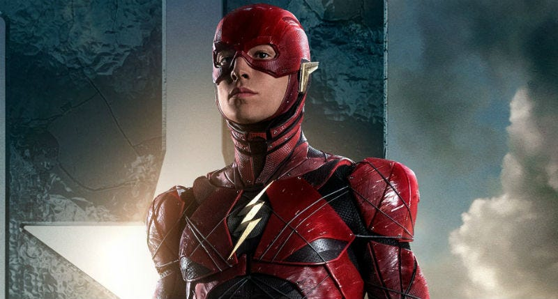 Ezra Miller as The Flash, who may just get a director after all. Image: Warner Bros.