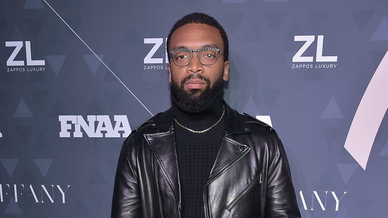 FN collaborator of the year on behalf of Reebok x Pyer Moss, designer Kerby Jean-Raymond attends the 2018 Footwear News Achievement Awards on December 4, 2018 in New York City.