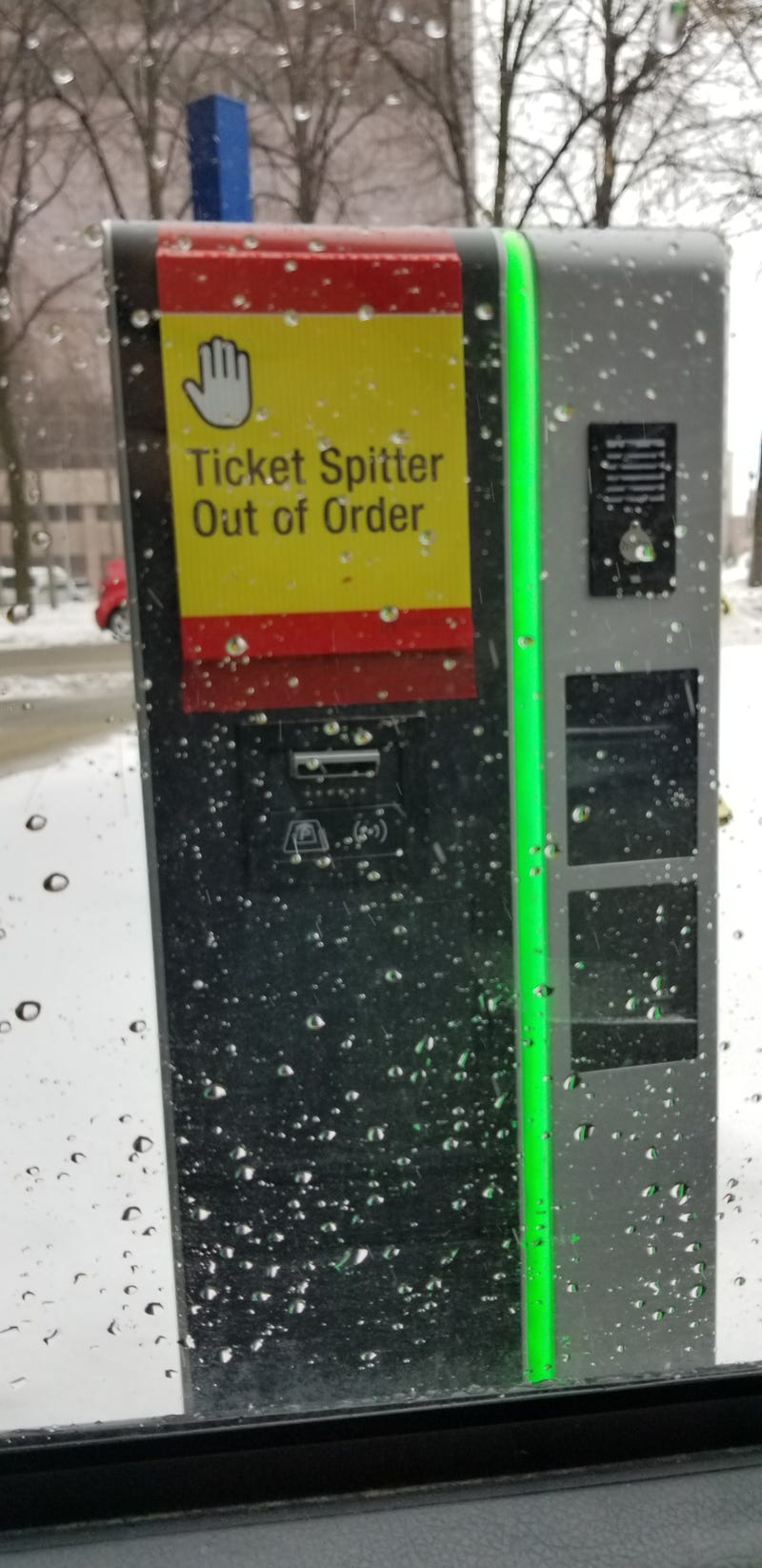 Illustration for article titled It's Called A Ticket Dispenser