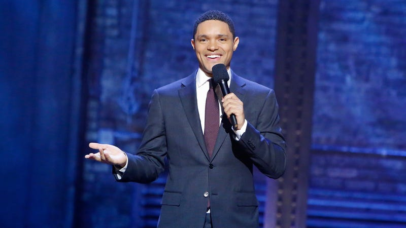 Illustration for article titled Trevor Noah recruits baby in chicken costume to help him announce new Netflix standup special
