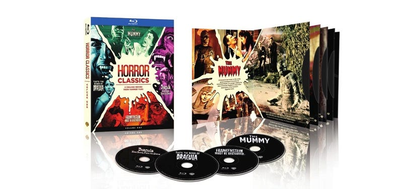 Illustration for article titled More Of Christopher Lee's Hammer Horror Classics Are Coming To Blu-ray!
