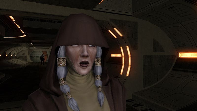 Illustration for article titled Desperately seeking a Sith Lord's approval in Knights Of The Old Republic II