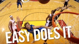 Illustration for article titled Stay Soft, Dirk Nowitzki