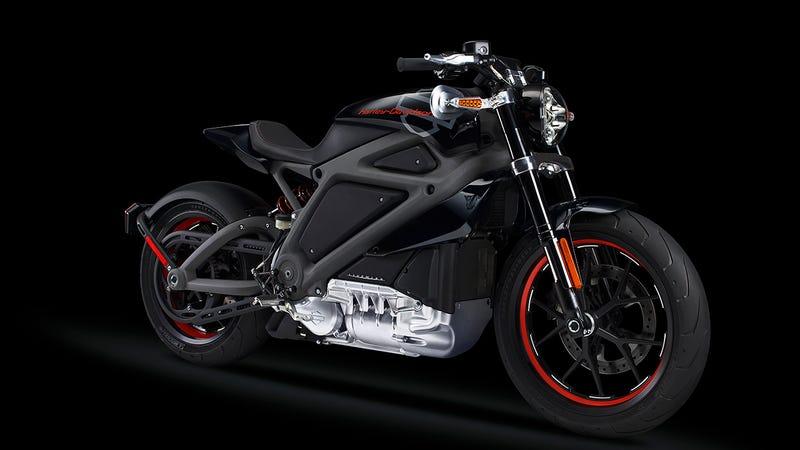 Illustration for article titled Esta es la primera moto eléctrica de Harley-Davidson