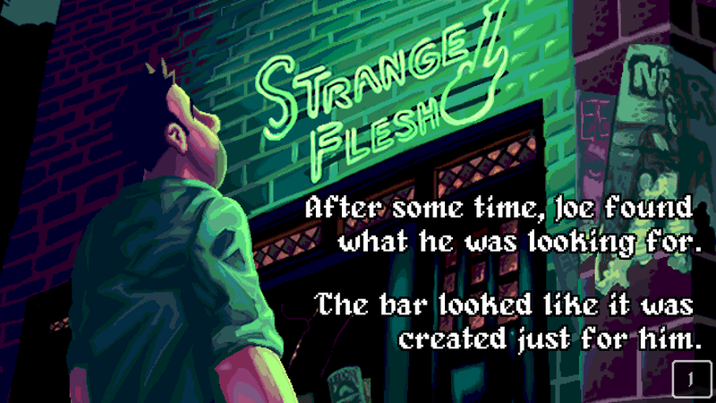 Illustration for article titled Strange Flesh Is Like Streets Of Rage With Much More Sex