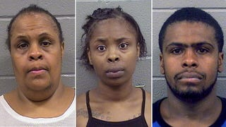 Lithia Henderson, Marshalla Kelly and Marshall L. Henderson are facing murder charges after allegedly beating 23-year-old Andre Jackson to death.Chicago Police Department