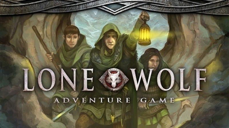 Illustration for article titled Beloved Lone Wolf Adventure Books Return as an RPG