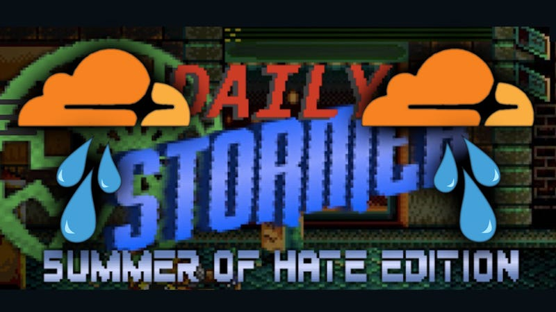 Screencap: Daily Stormer, Cloudflare