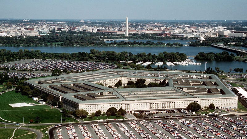 The Pentagon, seen here in an undated image provided by the U.S. Air Force.