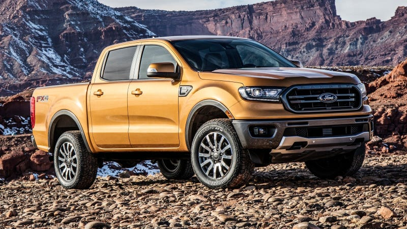 Illustration for article titled 2019 Ford Ranger: Everything We Know About the Packages and Specs So Far