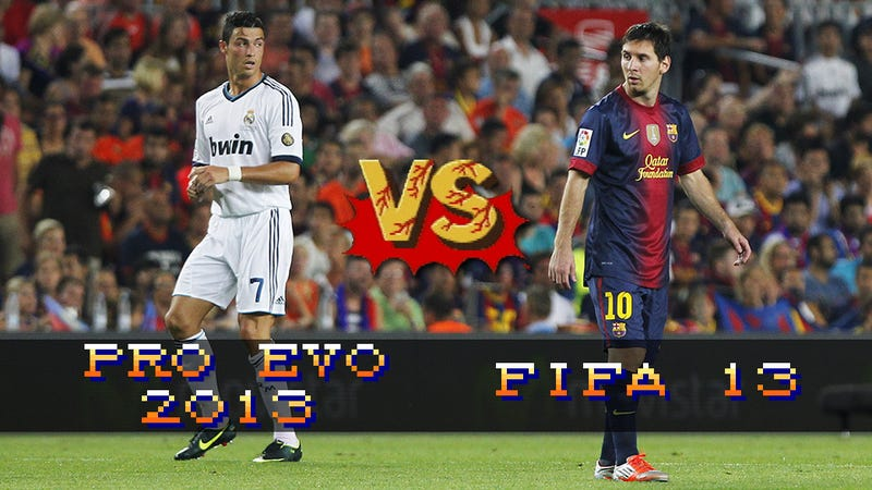 Illustration for article titled FIFA 13 vs Pro Evo 2013: Which Football Game Should You Get?