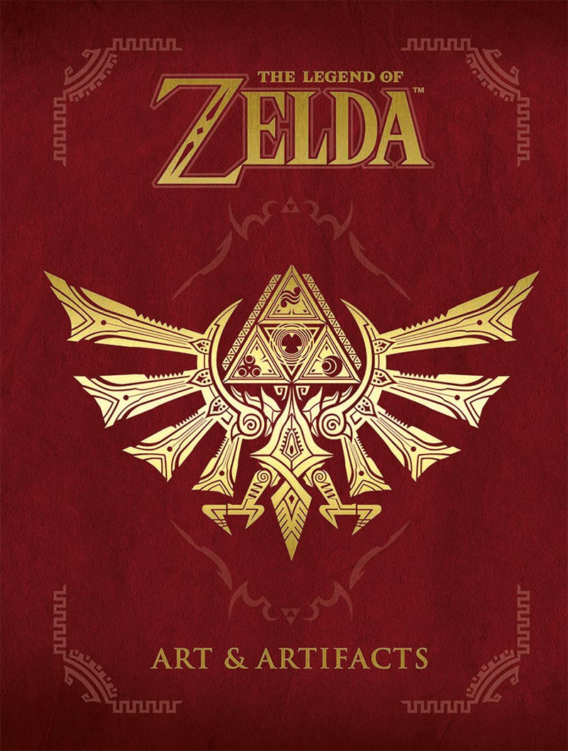 Illustration for article titled New Legend of Zelda art book releasing in English