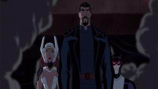 Illustration for article titled The Justice League's A Lot Darker In Bruce Timm's New DC Animated Movie