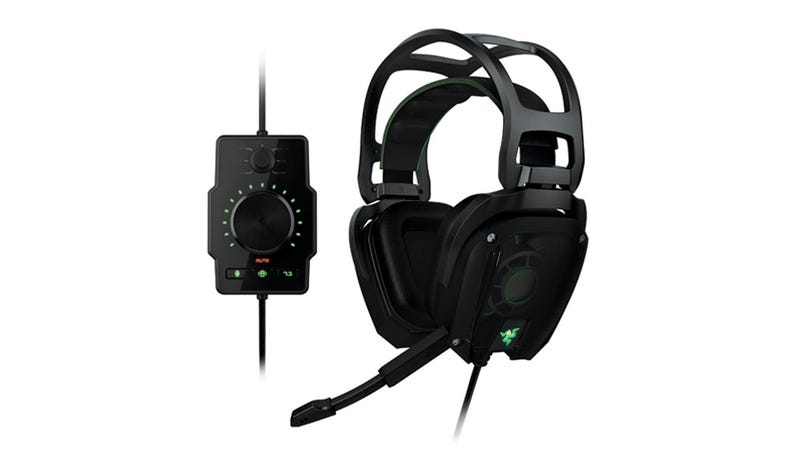 Illustration for article titled Razer Tiamat: The First Legit 7.1 Surround Sound Gaming Headset Carpet Bombs Your Eardrums With 10 Discrete Drivers