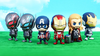 Illustration for article titled Baby Ultron Is The Cutest Maniacal A.I. In This New Avengers 2 Toyline