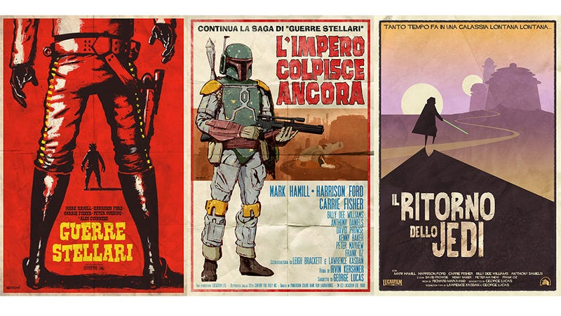 Illustration for article titled Incredible Star Wars Posters Are The Good, The Bad & The Ugnaught