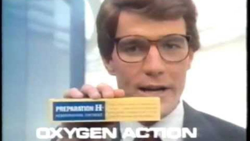"""Illustration for article titled Watch Bryan Cranston sling hemorrhoid cream in this """"Before They Were Famous"""" supercut"""