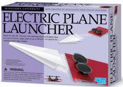 Illustration for article titled Electric Paper Plane Launcher; Stocking Filler For the One You Love