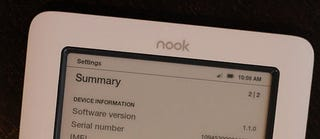Illustration for article titled Nook Firmware 1.1 Is Out, And It's No Miracle