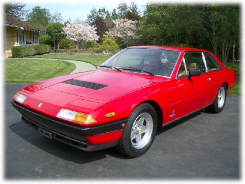 Illustration for article titled 1982 Ferrari 400i for a Rain Man-Approved $23,995!