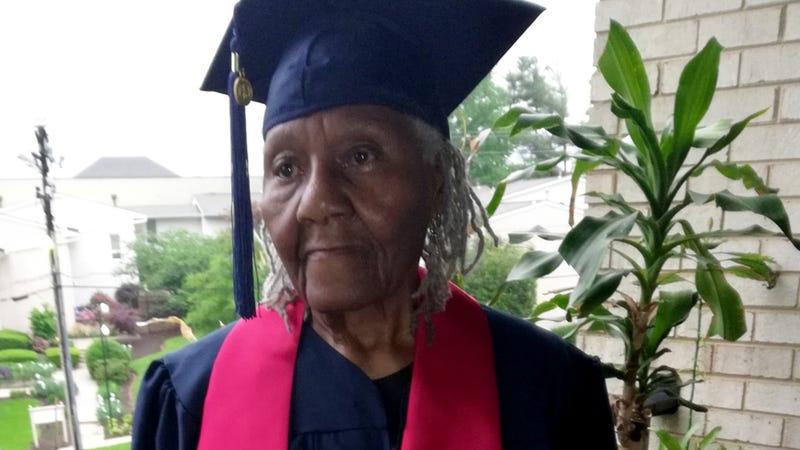 Ella Washington, graduating like a boss at age 89