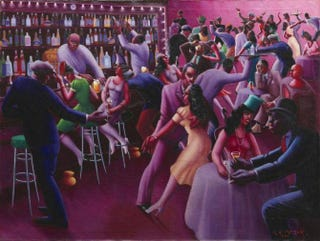 Nightlife, 1943Archibald John Motley Jr./The Art Institute of Chicago